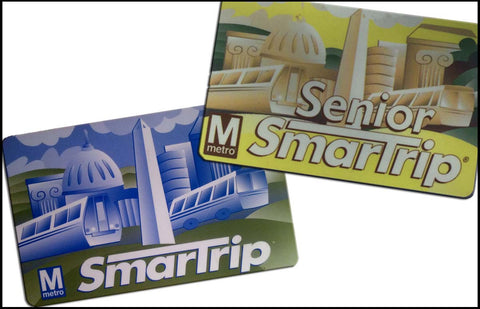 SmarTrip Card - $8 Fare + $2 for the card