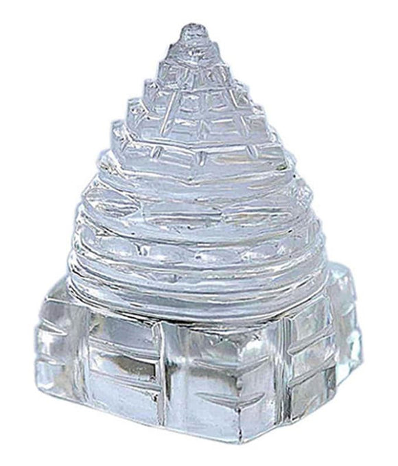 Crystal Spahtik Meru Shree Yantra
