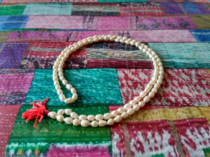 Moti Natural pearl Mala oval