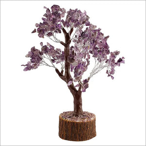 Natural Amethyst stone tree for wealth and prosperity