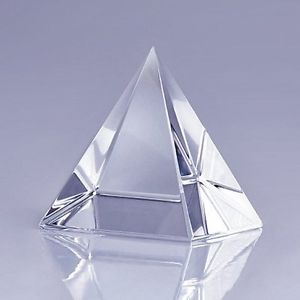Fengshui pyramid crystal for positive energy
