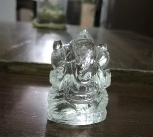 Sfatic ganesha idol crystal