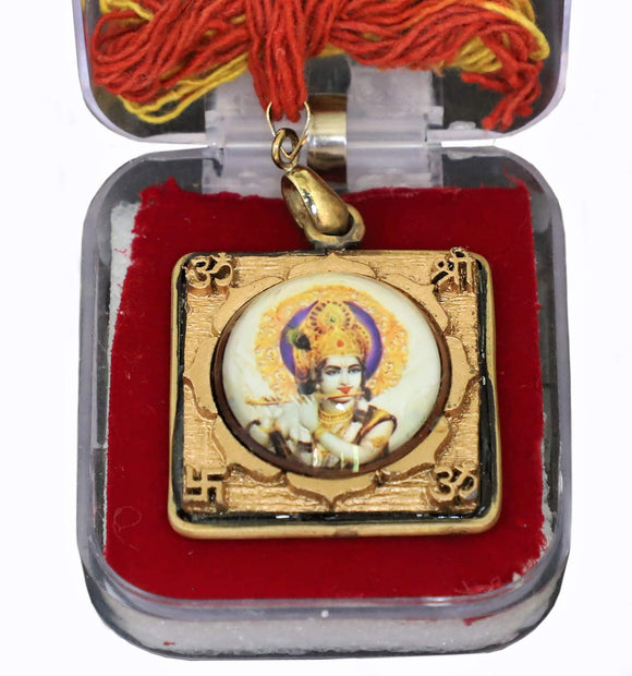Krishna locket pendant