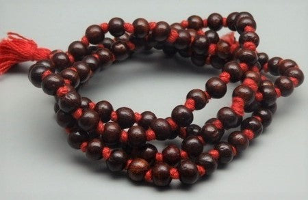 Red Sandalwood Chandan Mala - 100% Pure