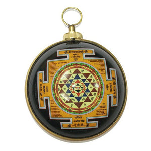 Shree Yantra - Lakhmi Yantra in Brass
