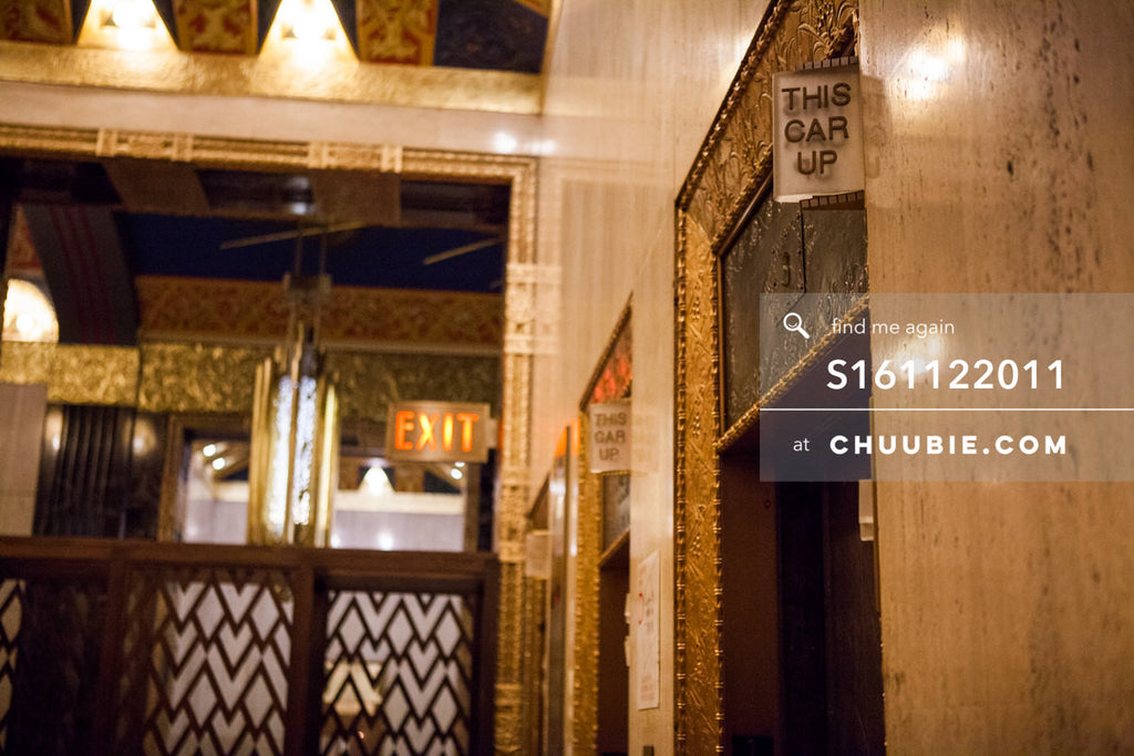 S161122011 |  Historic art deco elevator banks; Lobby. 100 Barclay Street in Tribeca, New York is the world's ... | Team Chuubie