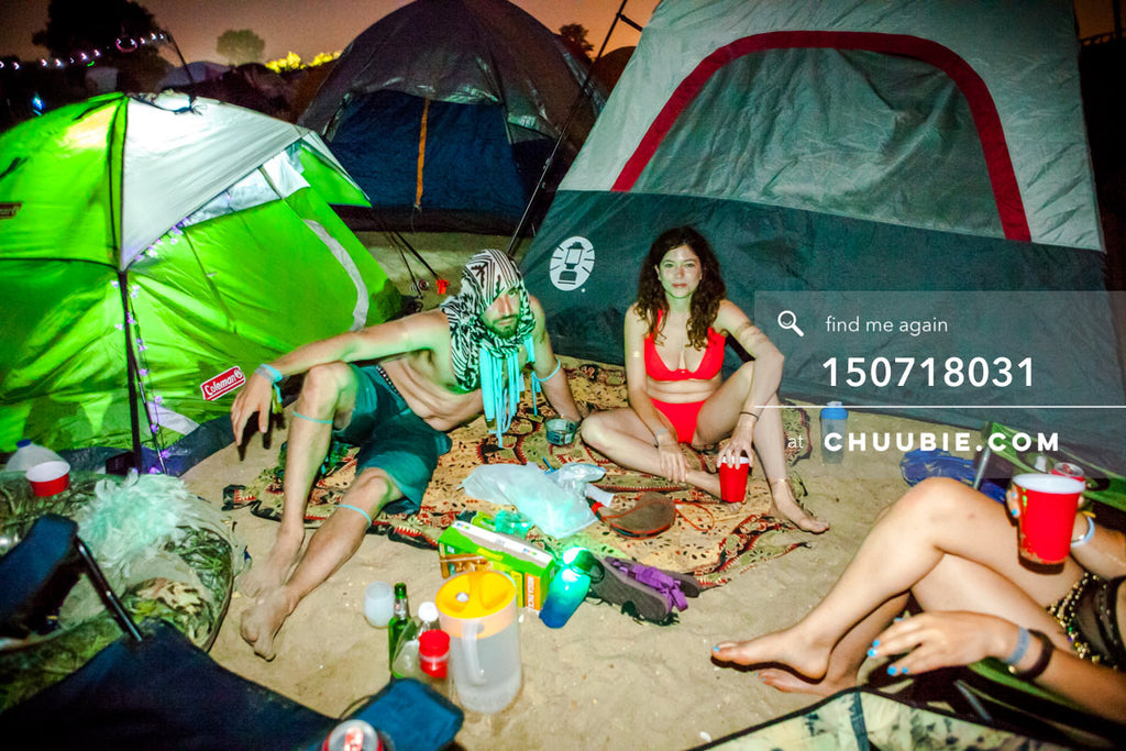 150718031 |  Andy & Archer settle in at camp site. —Gratitude Migration 2015: Summer Dream. Morning Glory... | Team Chuubie