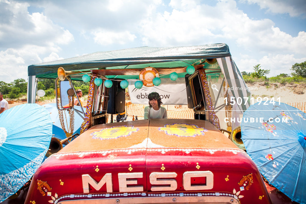 150719241 |  Cyantifik (DJ V) DJs in the beach art car. —Gratitude Migration 2015: Summer Dream. ebb+flow sta... | Team Chuubie
