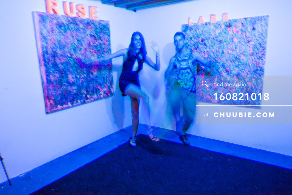 160821018 |  The Ruse Labs experiential room, fully equipped with art to view through (augmented reality) hea... | Team Chuubie