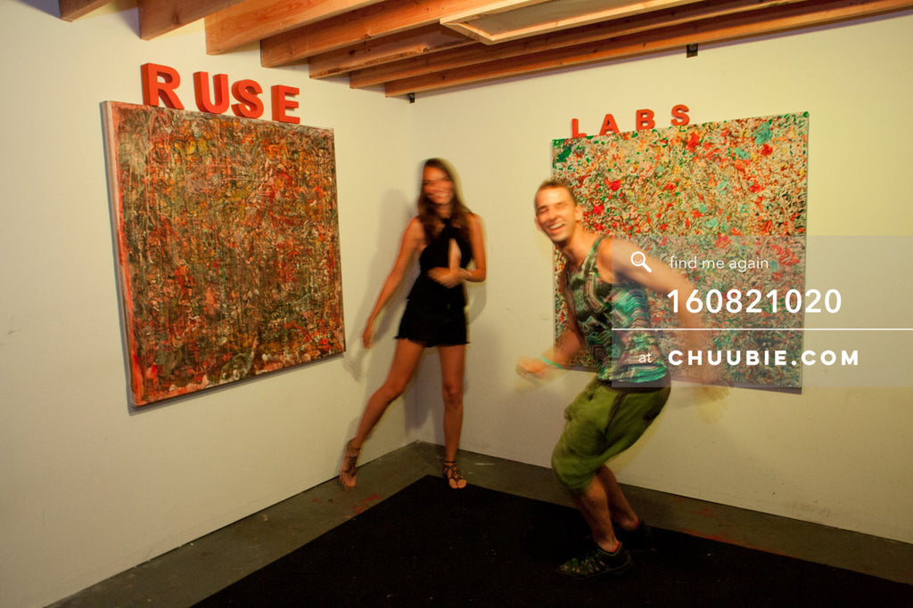 160821020 |  The Ruse Labs experiential room, fully equipped with art to view through (augmented reality) hea... | Team Chuubie