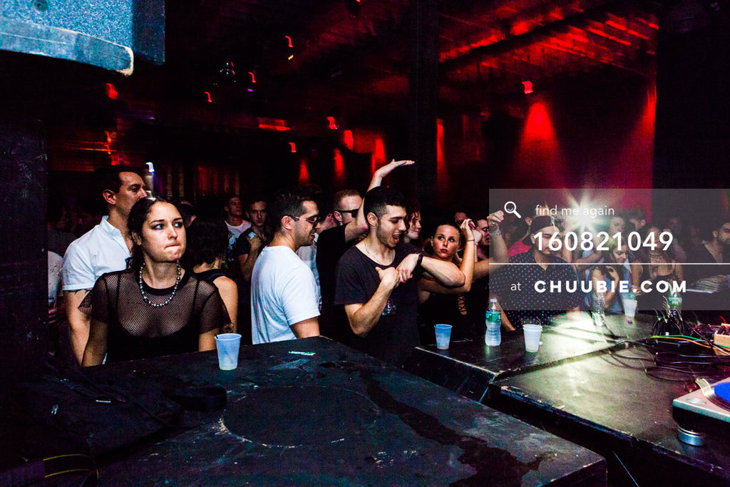 160821049 |  Crowd as the headliners play. Abstract views at Electric Minds 10: Sublimate with Ben UFO and Jo... | Team Chuubie