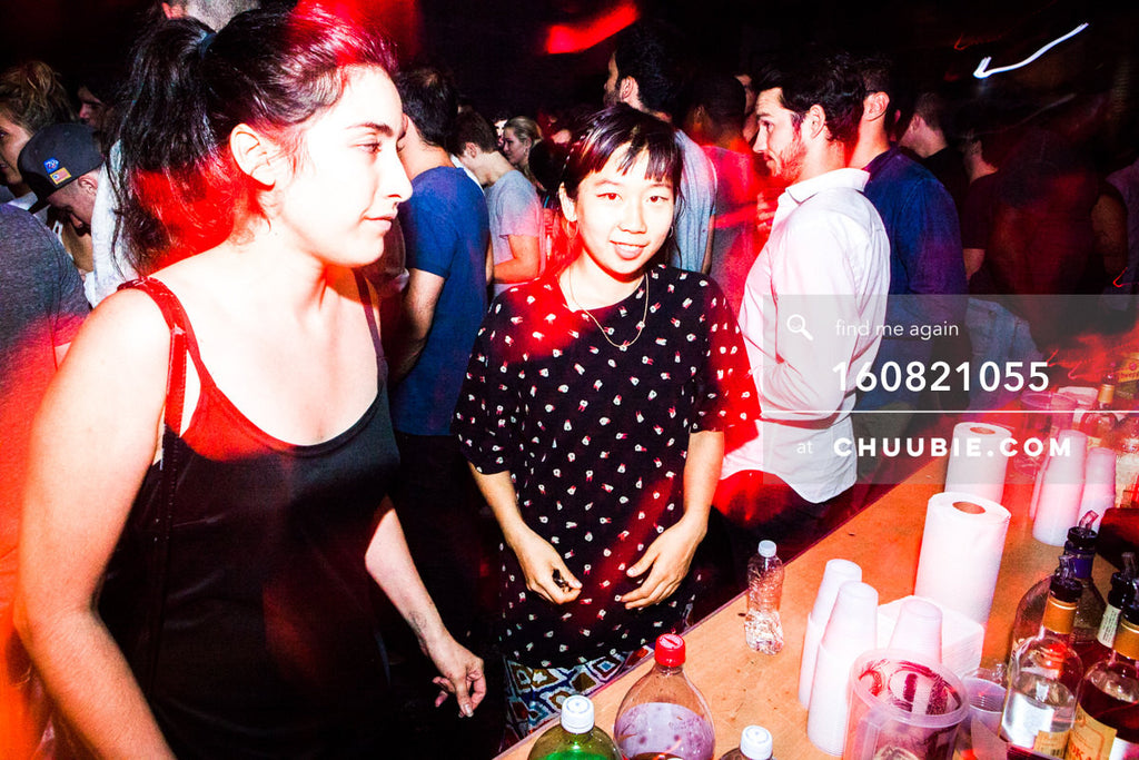 160821055 |  At the bar. Electric Minds 10: Sublimate with Ben UFO and Joy Orbison at secret Brooklyn warehou... | Team Chuubie