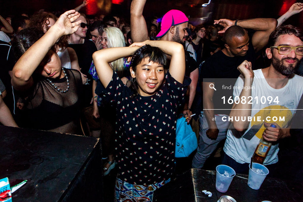 160821094 |  Dancing with hands up in the air. Electric Minds 10: Sublimate with Ben UFO and Joy Orbison at s... | Team Chuubie