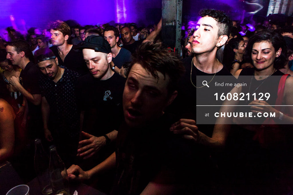 160821129 |  Raving hard in the crowd. Electric Minds 10: Sublimate with Ben UFO and Joy Orbison at secret Br... | Team Chuubie