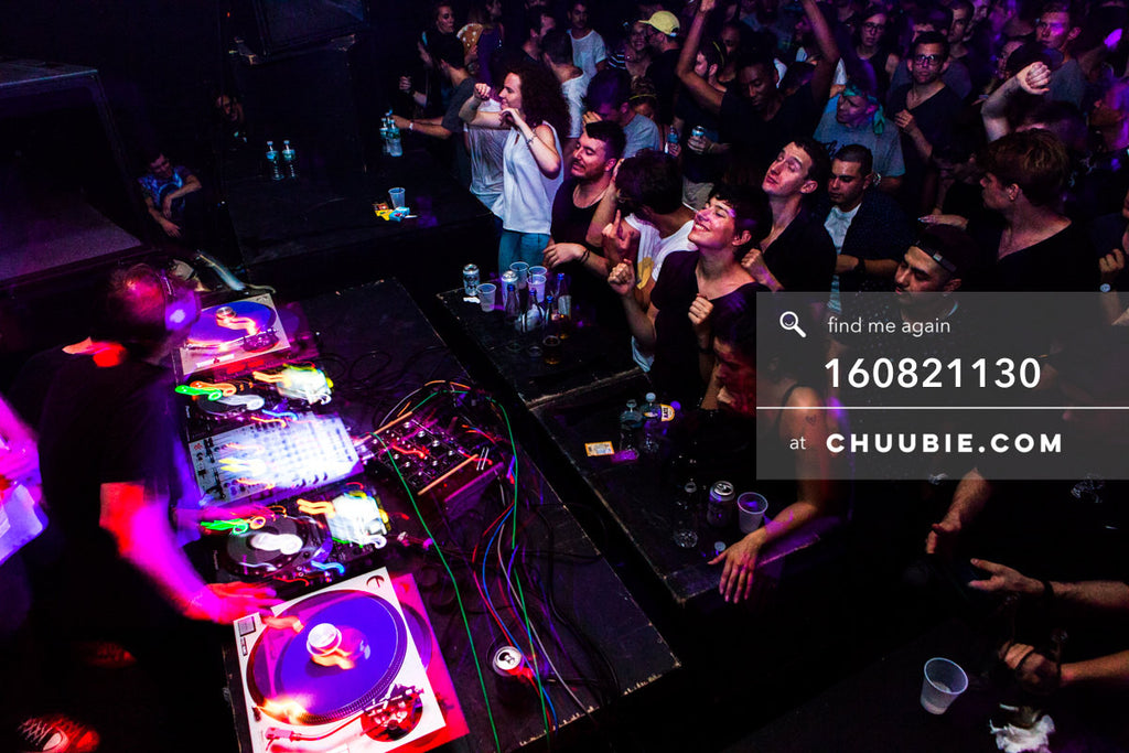 160821130 |  Smiles in the crowd as Ben UFO DJs. Electric Minds 10: Sublimate with Ben UFO and Joy Orbison at... | Team Chuubie