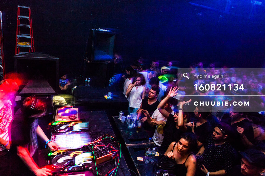 160821134 |  Ben UFO DJing to a packed dance floor. Electric Minds 10: Sublimate with Ben UFO and Joy Orbison... | Team Chuubie