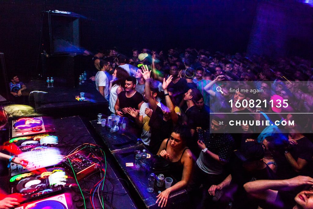 160821135 |  Packed dance floor. Electric Minds 10: Sublimate with Ben UFO and Joy Orbison at secret Brooklyn... | Team Chuubie