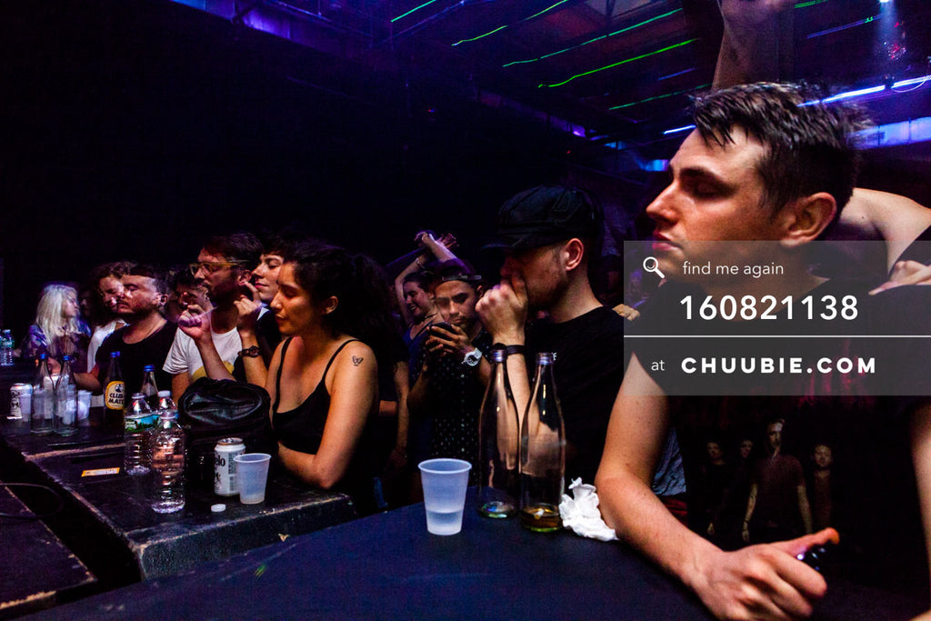 160821138 |  Front row ravers. Electric Minds 10: Sublimate with Ben UFO and Joy Orbison at secret Brooklyn w... | Team Chuubie