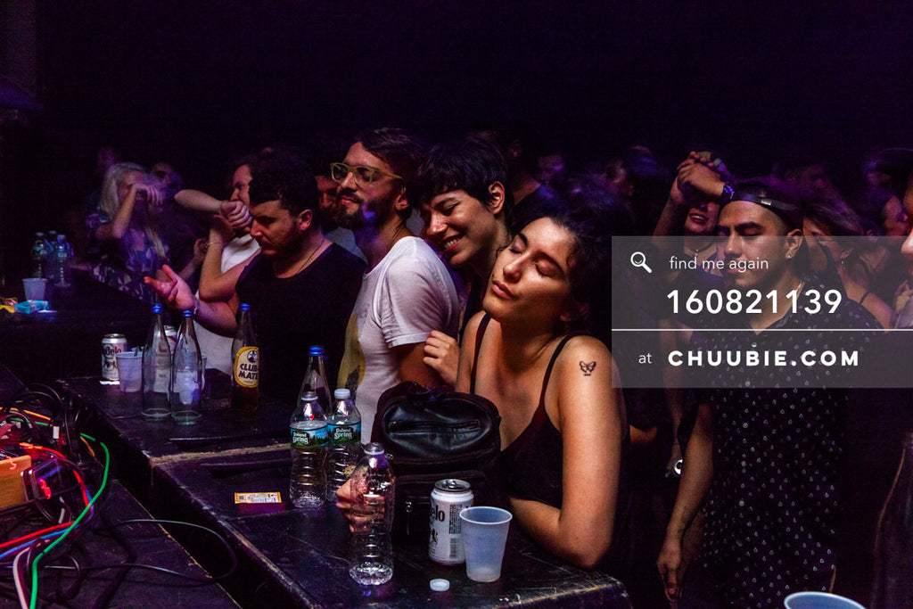 160821139 |  Daydream. Front row ravers eyes closed. Electric Minds 10: Sublimate with Ben UFO and Joy Orbiso... | Team Chuubie
