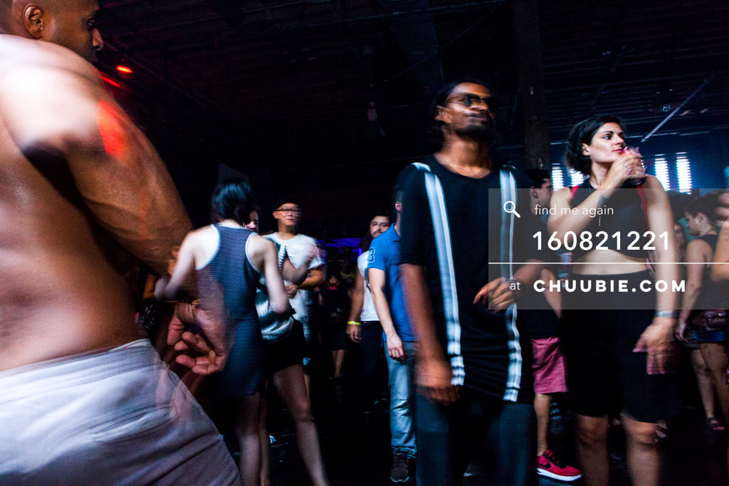 160821221 |  Electric Minds 10: Sublimate with Ben UFO and Joy Orbison at secret Brooklyn warehouse, New York... | Team Chuubie