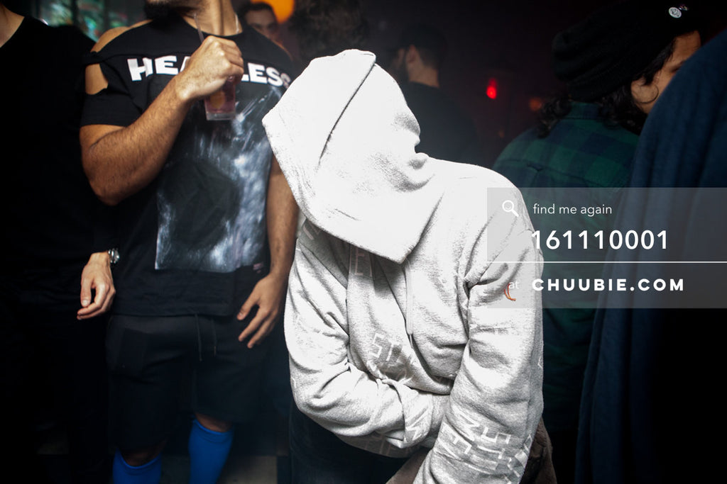 161110001 | Ciarrai sporting the STOP MEN sweatshirt — at BROMO 1 Year Anniversary with Butched (Joey Quiñone... | Team Chuubie