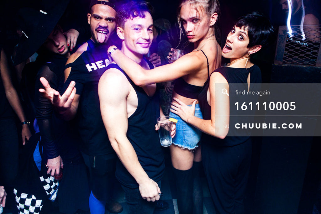 161110005 | Gage of the Boone + Nirco Castillo + Alessio & Stav Strashko of Techno Queers NY — at BROMO 1... | Team Chuubie
