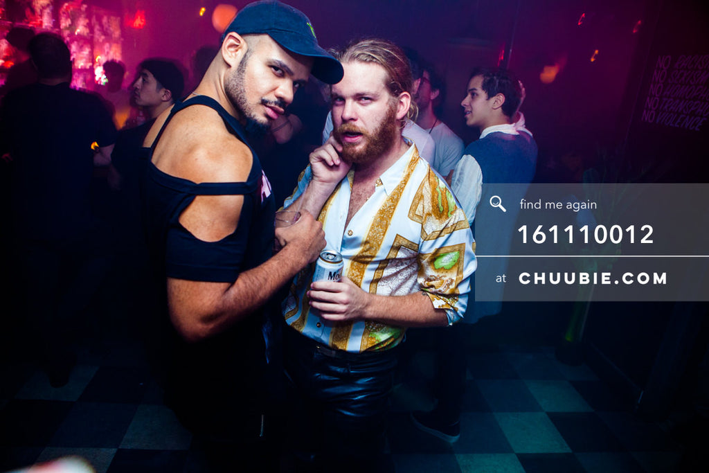 161110012 | Strike the pose at Bossa Nova Civic Club — at BROMO 1 Year Anniversary with Butched (Joey Quiñone... | Team Chuubie