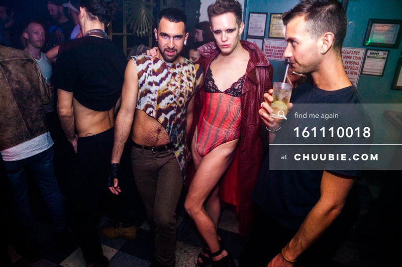 161110018 | Runway begins at Bossa Nova Civic Club — at BROMO 1 Year Anniversary with Butched (Joey Quiñones ... | Team Chuubie