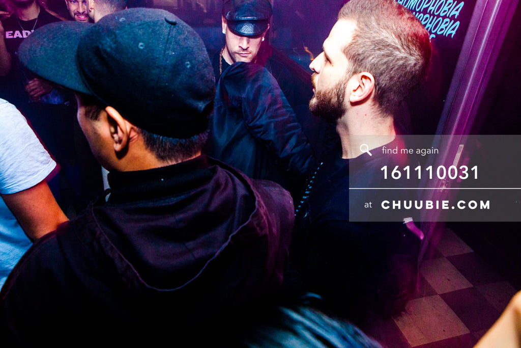 161110031 | Daddy Ruffhouse in the shadows. Servito, Bryan Beretta, Litz  — at BROMO 1 Year Anniversary with ... | Team Chuubie