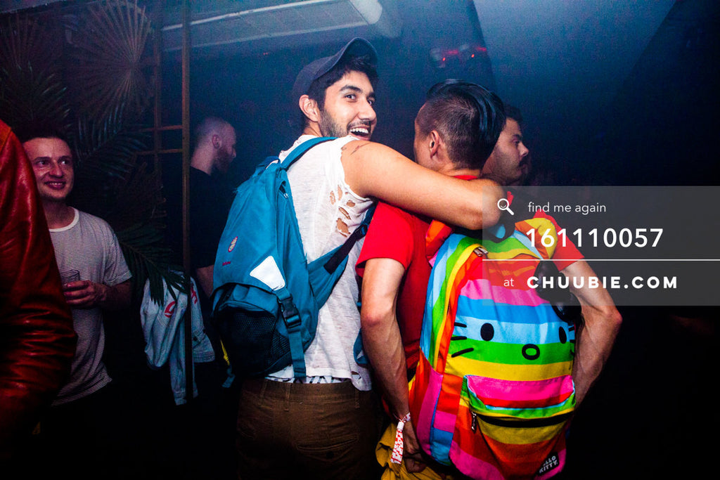 161110057 | Rainbow Hello Kitty Backpack Says Hello — at BROMO 1 Year Anniversary with Butched (Joey Quiñones... | Team Chuubie