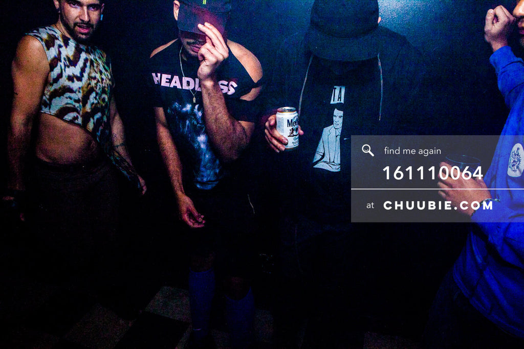 161110064 | Travis Steele Sisk, Nirco Castillo, Servito — at BROMO 1 Year Anniversary with Butched (Joey Quiñ... | Team Chuubie