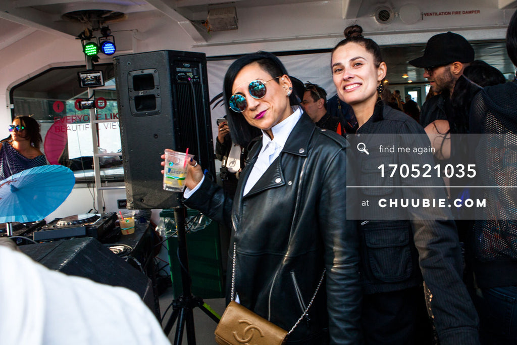 170521035 |  Stylish ladies in black — ebb+flow boat party May 21, 2017 | Team Chuubie