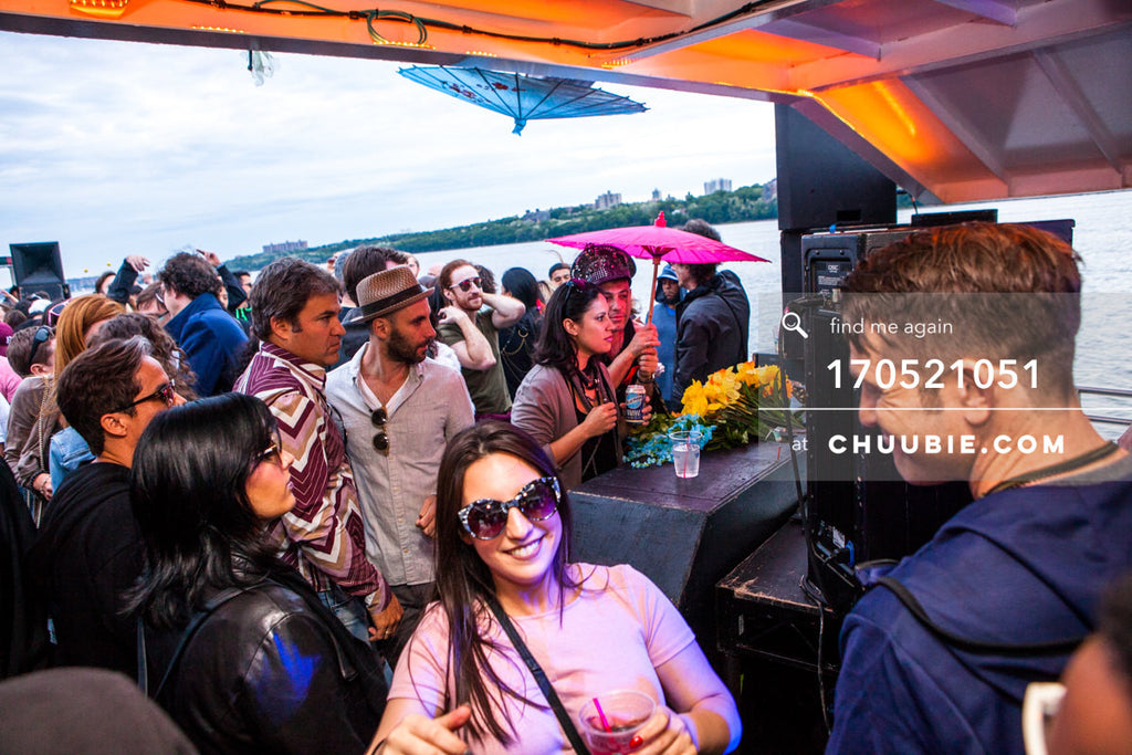 170521051 |  Crowd aboard at dusk. — ebb+flow boat party May 21, 2017 | Team Chuubie