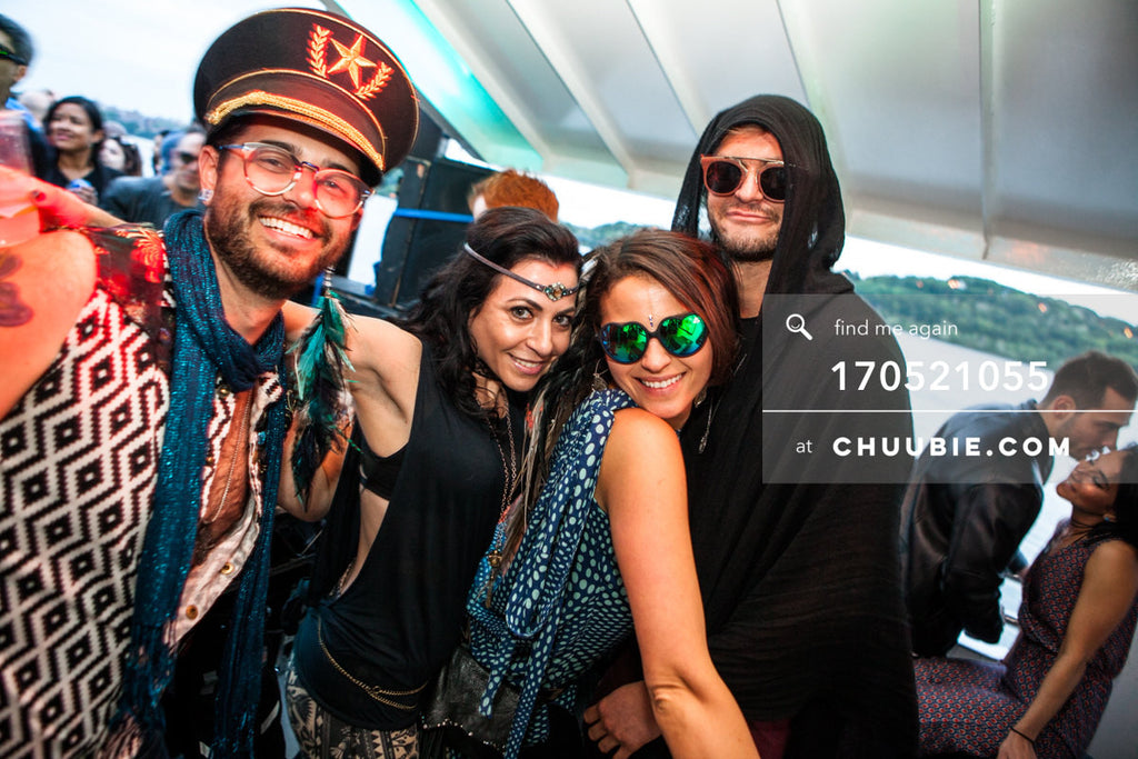 170521055 |  Tara Brooks and friends — ebb+flow boat party May 21, 2017 | Team Chuubie