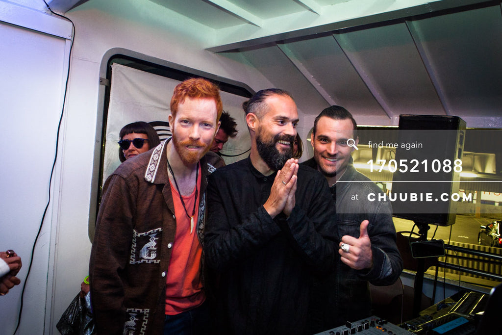 170521088 |  DJs group shot: Gavin Stephenson (ebb+flow co-founder), Einmusik , and Justin Marchacos — ebb+fl... | Team Chuubie