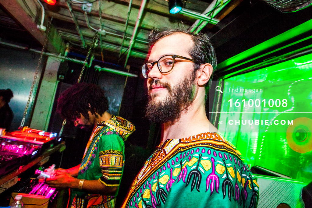 161001008 |  Matt sporting Dashiki realness.   Sublimate presents: Hunee September 30, 11pm - October 1 11am ... | Team Chuubie