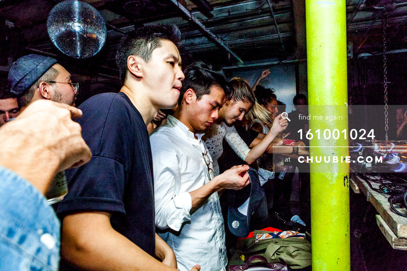 161001024 |  Side angle shot of crowd - rave hard or rave harder. Sublimate presents: Hunee September 30, 11p... | Team Chuubie