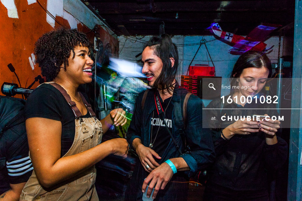 161001082 |  Nikki & Luis share a chat. Rochelle channels booking agent realness!  Sublimate presents: Hu... | Team Chuubie