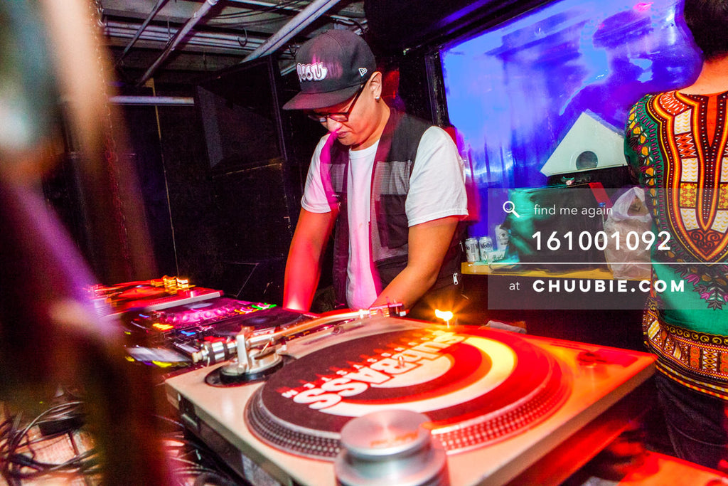 161001092 |  Chung behind the decks. Sublimate presents: Hunee September 30, 11pm - October 1 11am   Photo to... | Team Chuubie