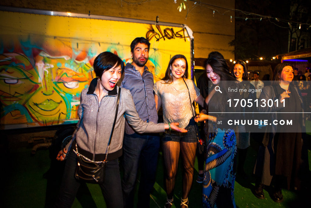 170512011 |  Joodz & friends at Brooklyn's Sugarhill Disco back patio.  —Sublimate: Hessle Audio 10: Ben ... | Team Chuubie