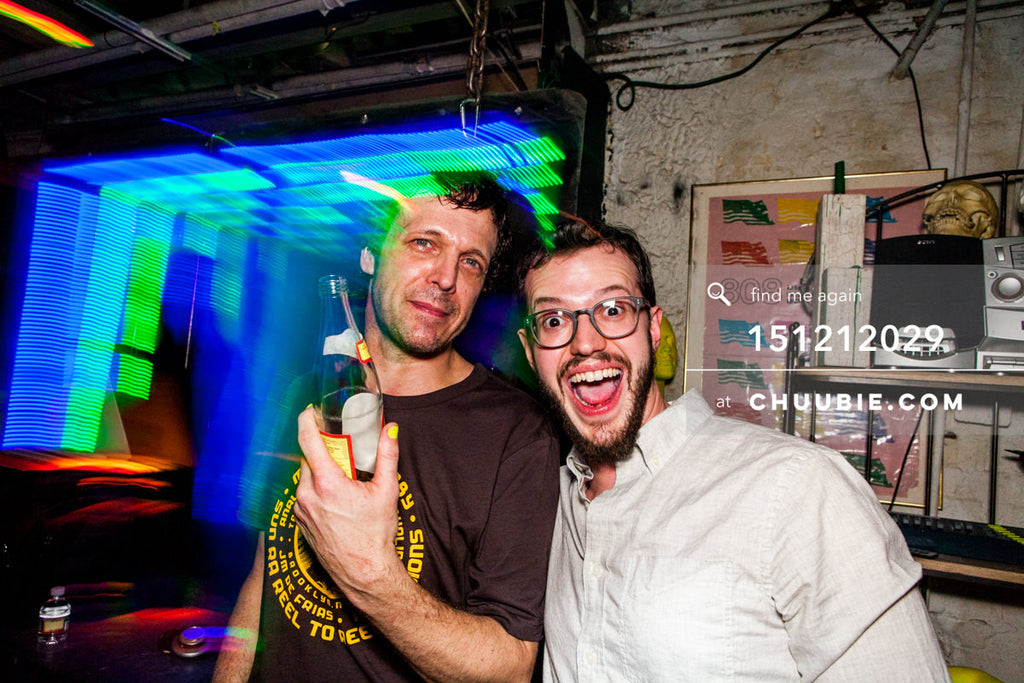 151212029 | All smiles with DJs Donny Burlin & Matt Sagotsky. — Sublimate & Ruse Labs 2 Year Annivers... | Team Chuubie