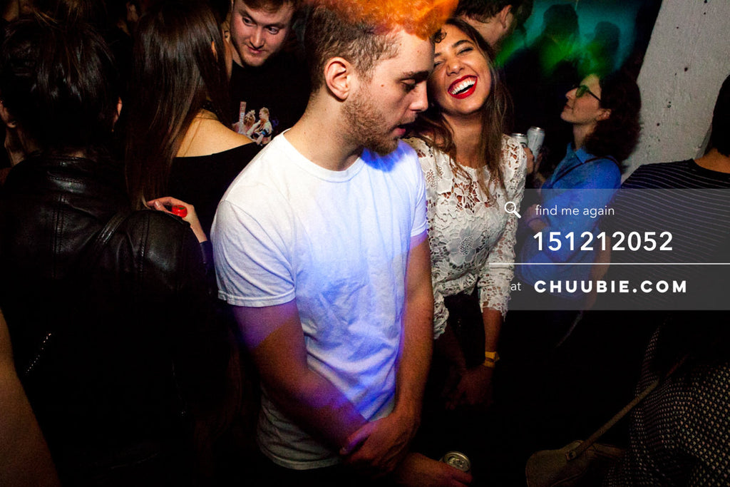 151212052 |  Pensive guy & laughing girl in crowd. — Sublimate & Ruse Labs 2 Year Anniversary: Mike S... | Team Chuubie