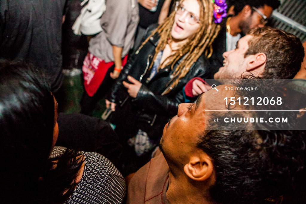 151212068 |  Close up of partygoers in crowd. — Sublimate & Ruse Labs 2 Year Anniversary: Mike Servito, S... | Team Chuubie