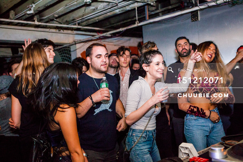 151212071 |  Ladies in crowd dancing to Servito at Brooklyn Warehouse. — Sublimate & Ruse Labs 2 Year Ann... | Team Chuubie