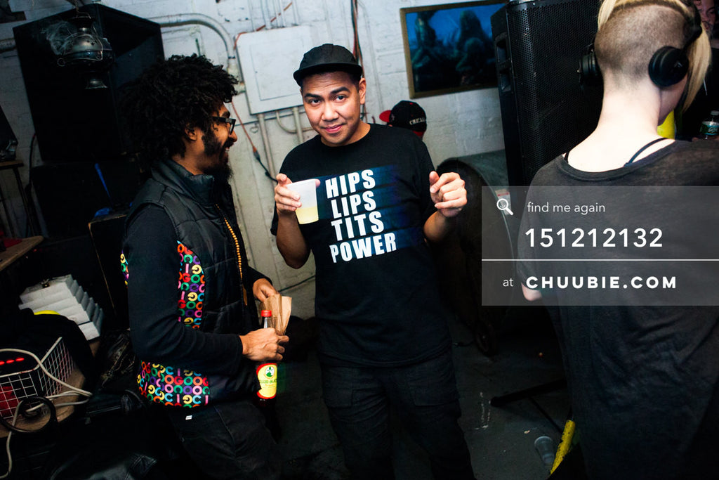 151212132 |  DJs Turtle Bugg & Mike Servito smiling at Brooklyn warehouse. — Sublimate & Ruse Labs 2 ... | Team Chuubie