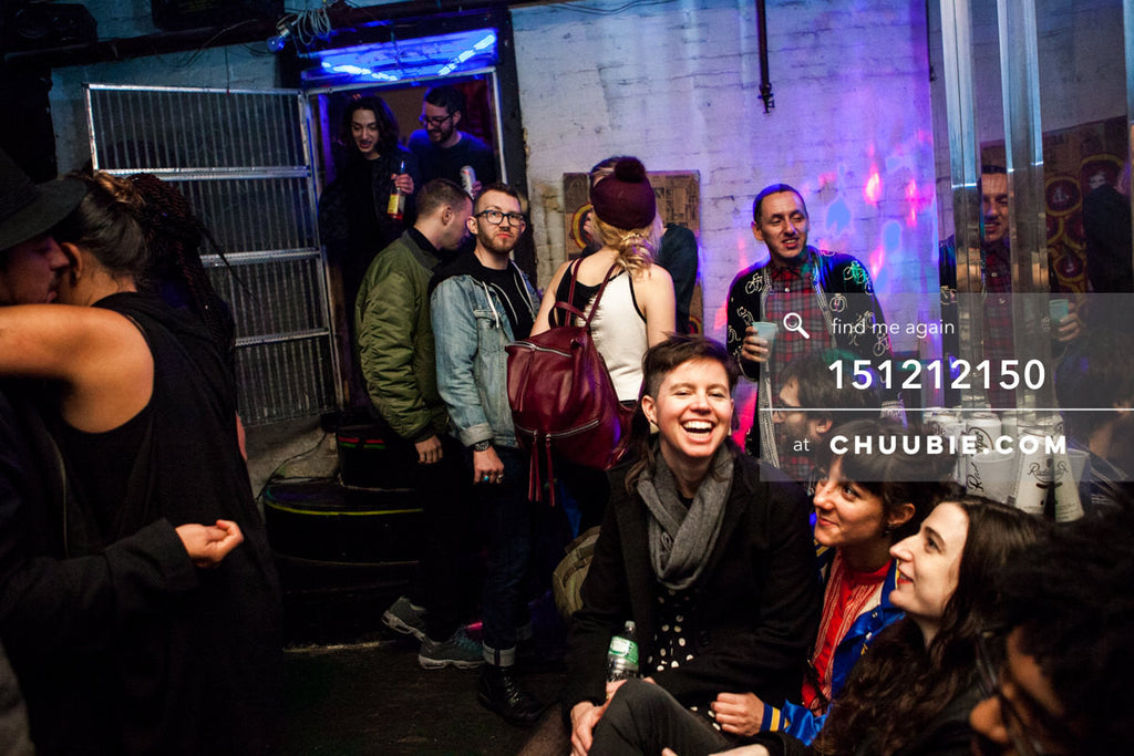 151212150 |  People watching on the rooftop bar at Brooklyn warehouse party. — Sublimate & Ruse Labs 2 Ye... | Team Chuubie