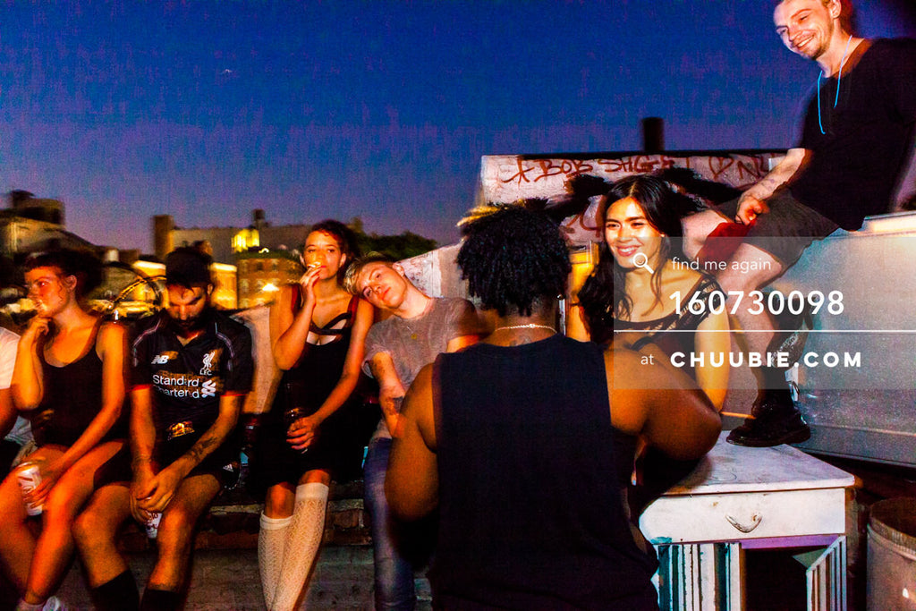 160730098 | Late night Brooklyn rooftop conversations with Shellz. — Sublimate & Ruse Labs present: Mood ... | Team Chuubie