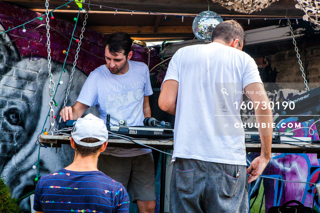 160730190 | DJ Faso (Jason Fellows) changing shifts with Ben Gleitzman & Gattis. — Sublimate & Ruse L... | Team Chuubie