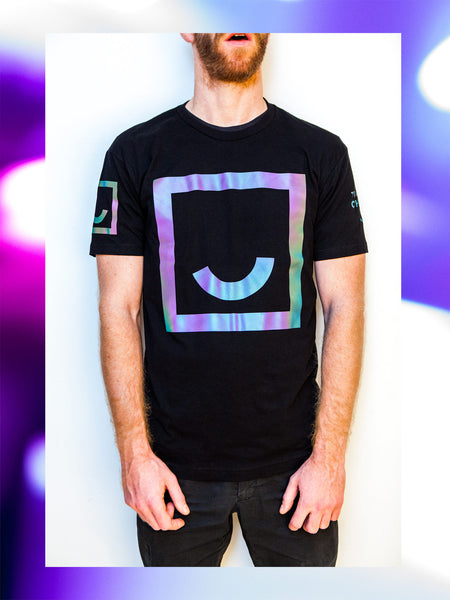 Team Chuubie Smiley Rave Glow T-Shirt