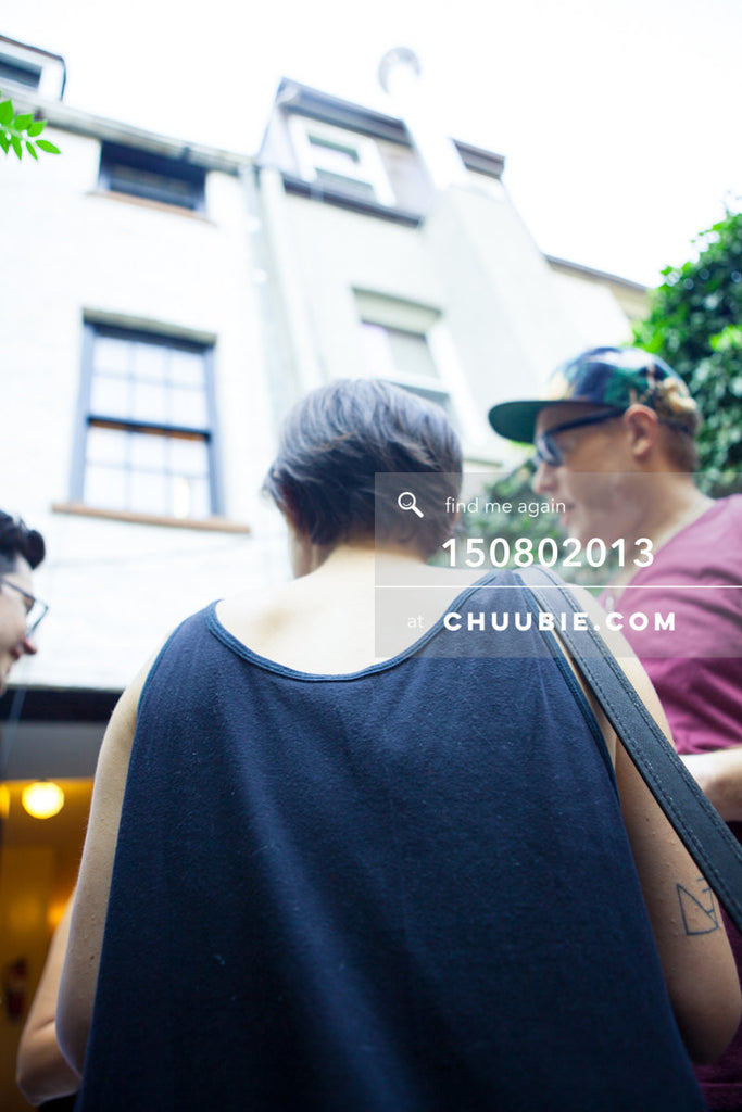 150802013 | Cool, milky soft focus tall vertical shot of summer backyard BBQ. —Team Fun BBQ hosted by Sublima... | Team Chuubie